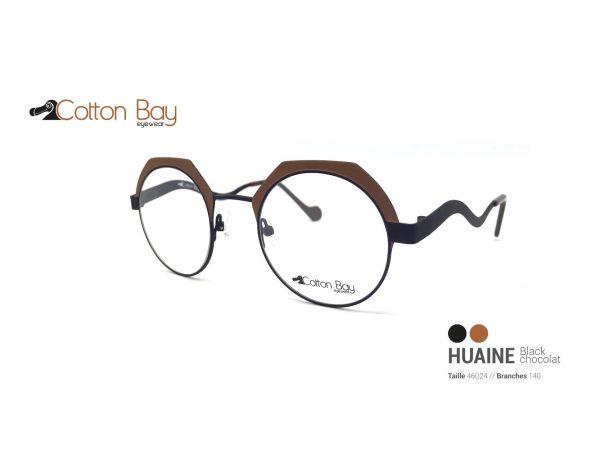 Lunettes Cotton Bay collection Huaine-blackchocolat