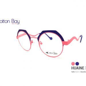 Lunettes Cotton Bay collection Huaine-neon-corail