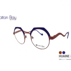 Lunettes Cotton Bay collection Huaine-ocean-brun