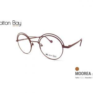 La collection Cotton Bay eyewear sous toutes leurs coutures chocolat