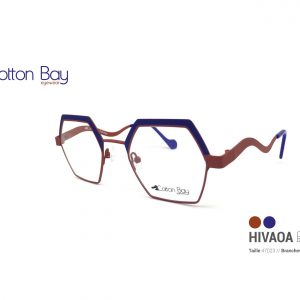 Lunettes Cotton Bay Eyewear ocean-brun-1